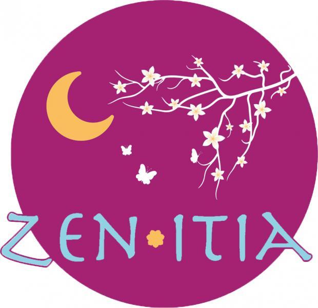 Logo violet transparant zen itia 1